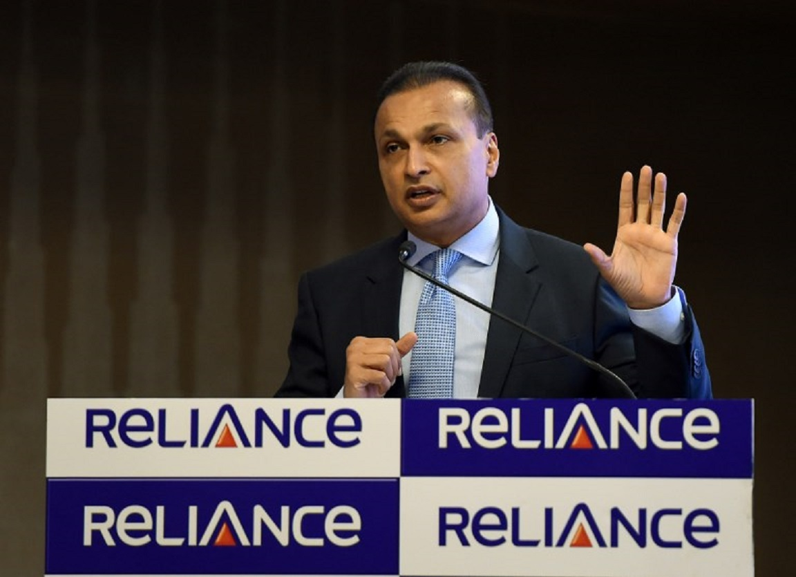 Reliance Communications chief Anil Ambani. Photo: AFP