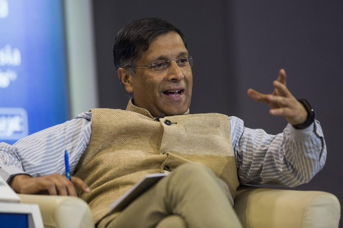 Arvind Subramanian, former chief economic adviser to the Indian government. Photo: AFP