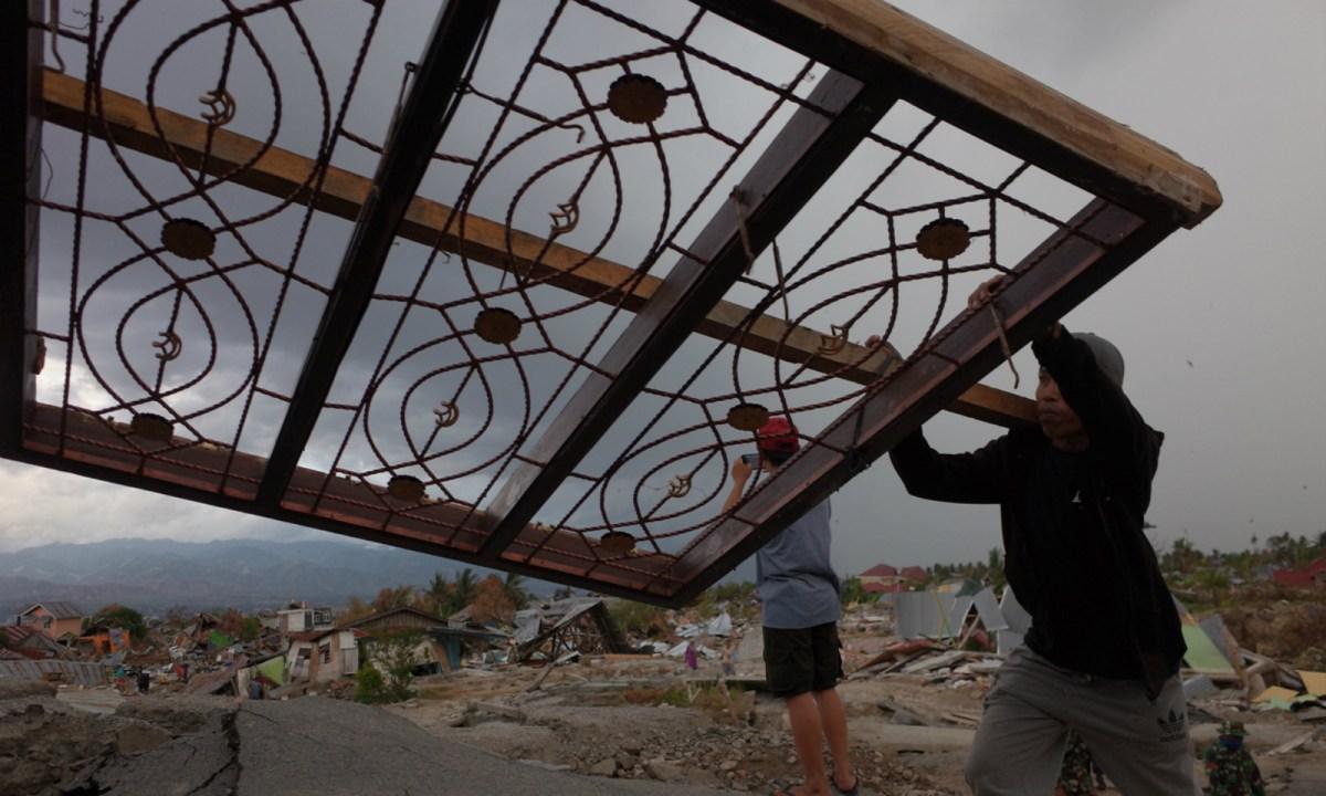 The earthquake left Sulawesi devastated. Photo: iStock.