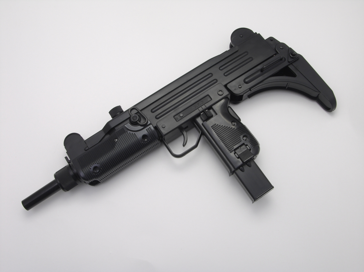 Israeli state firm IMI Systems makes the  Uzi submachine gun, above, and the Galil assault rifle. Photo: iStock