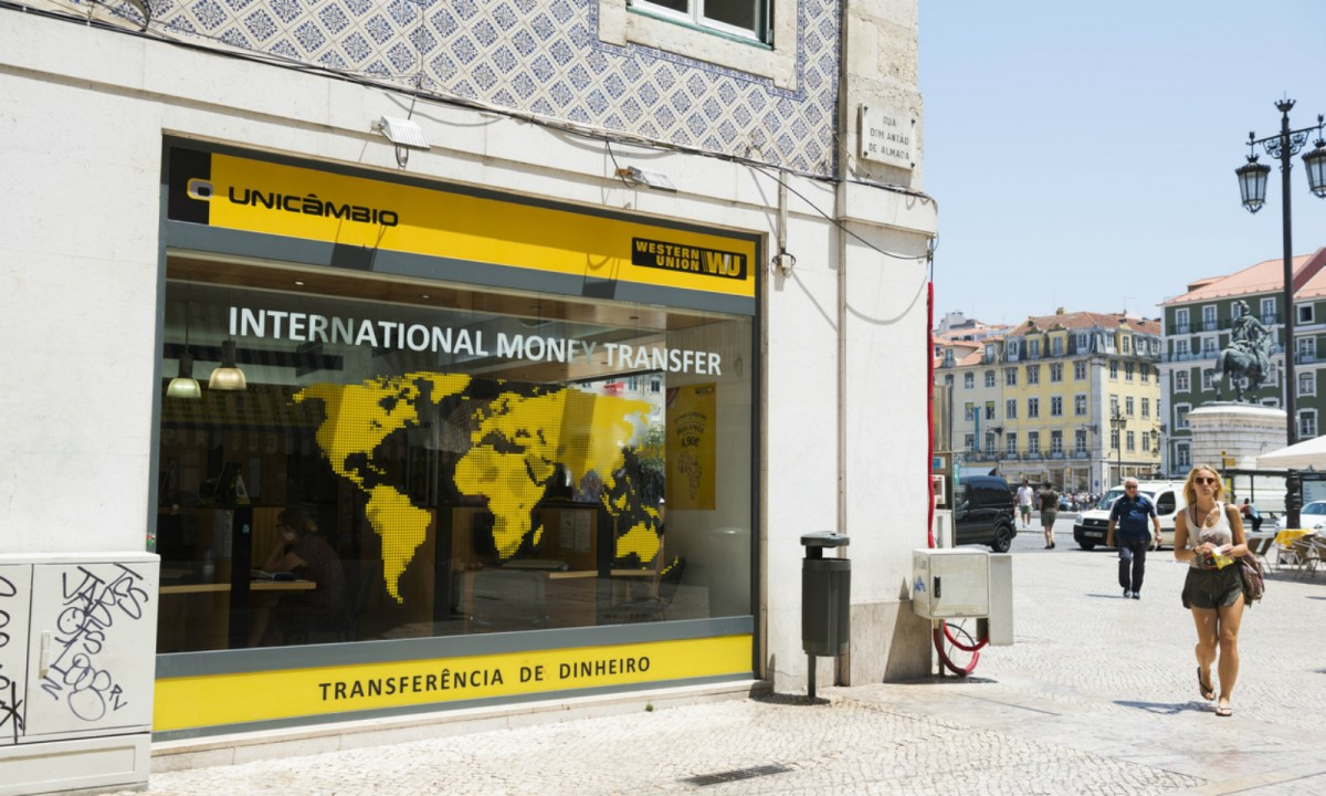 A Western Union remittance branch. Photo: iStock.