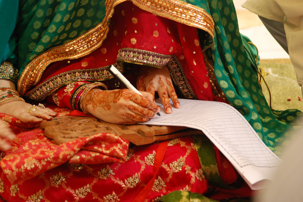 CII is drafting a new marriage document to give women the right to divorce.  Photo: Flickr