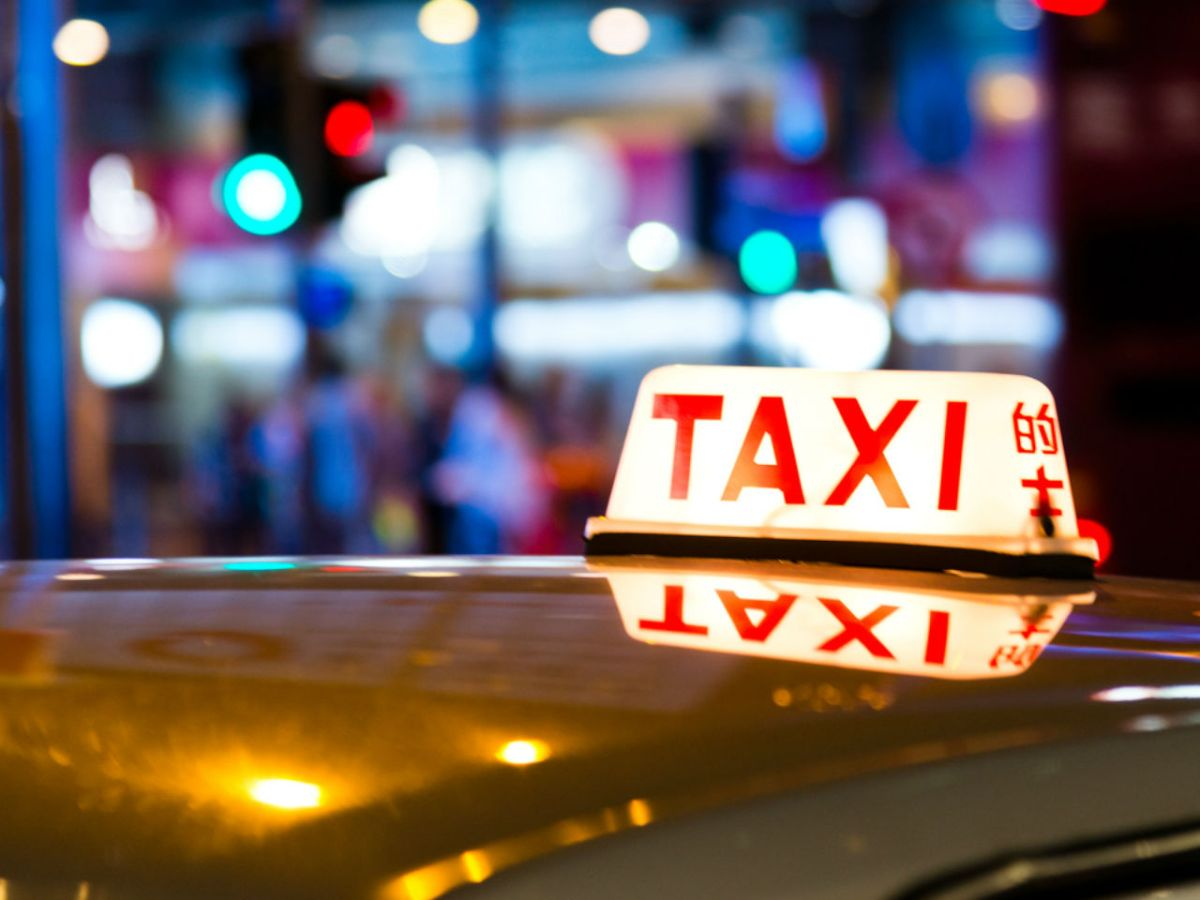 Hong Kong taxi. Photo: iStock