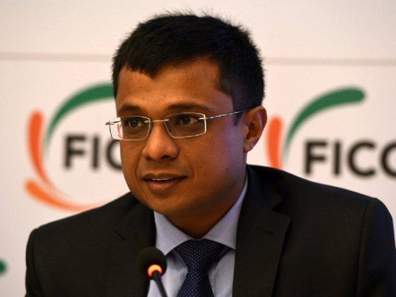 Sachin Bansal, co-founder of Flipkart: AFP