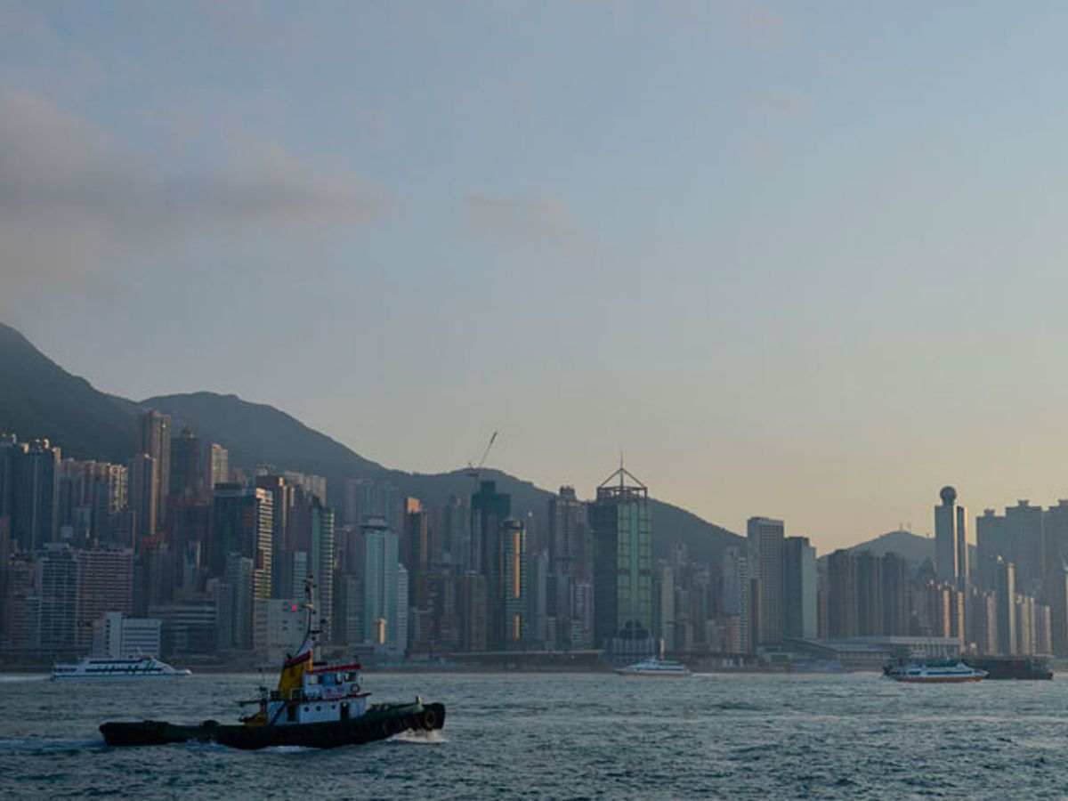 Victoria Harbour with Hong Kong Island in the background. Photo: Wikimedia Commons