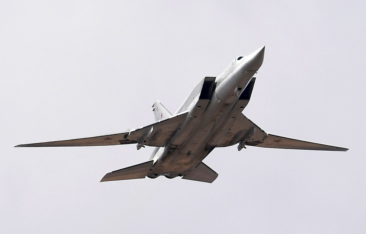 Russia sent the Tu-22M Backfire strategic bomber to Venezuela. Photo: AFP