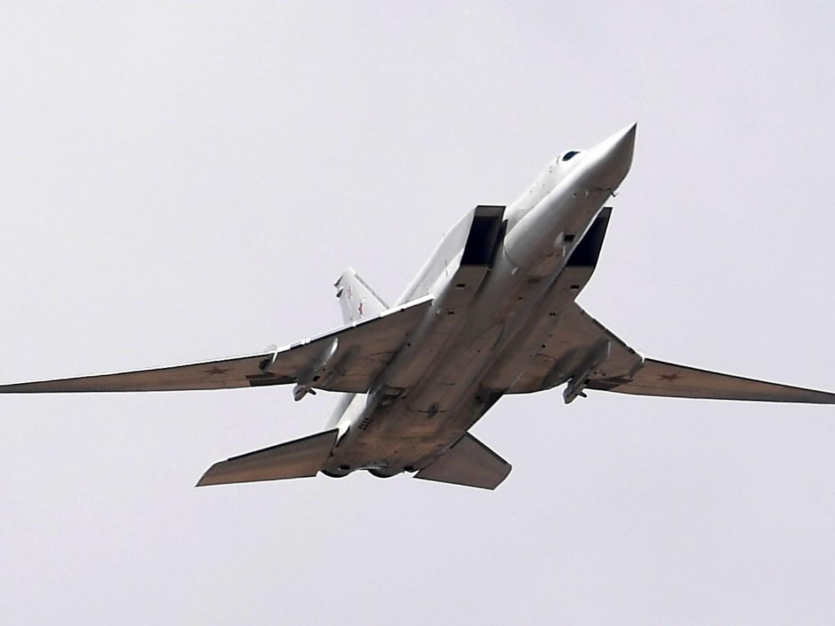 Russia sent the Tu-22M Backfire strategic bomber to Venezuela. Photo: AFP