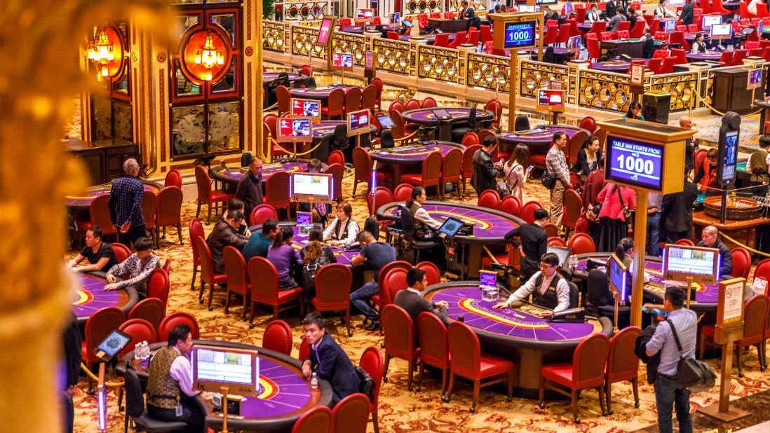 A casino in Macau. Photo: Weibo