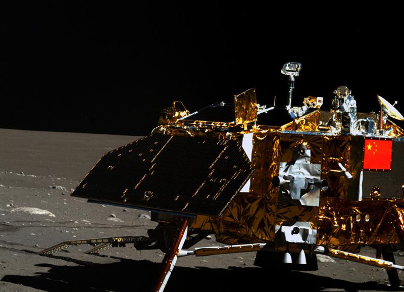 The rover of the Chang'e 4, the first lunar probe that will land on moon's far side. Photo: Xinhua
