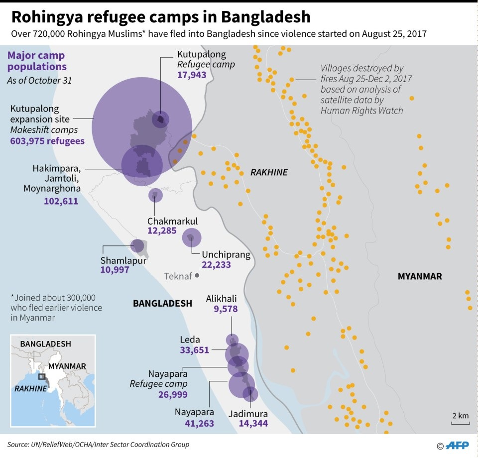 Map of Bangladesh: iStock