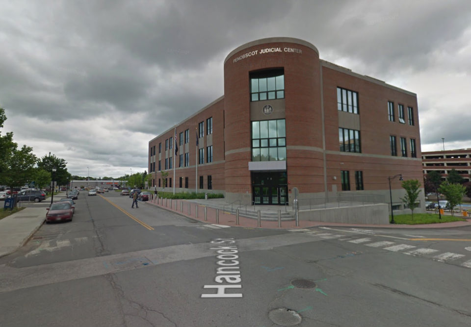 Bangor District Court in Maine, US. Photo: Google Maps