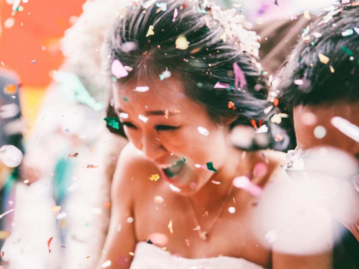 China's government is cracking down on lavish weddings. Photo: iStock