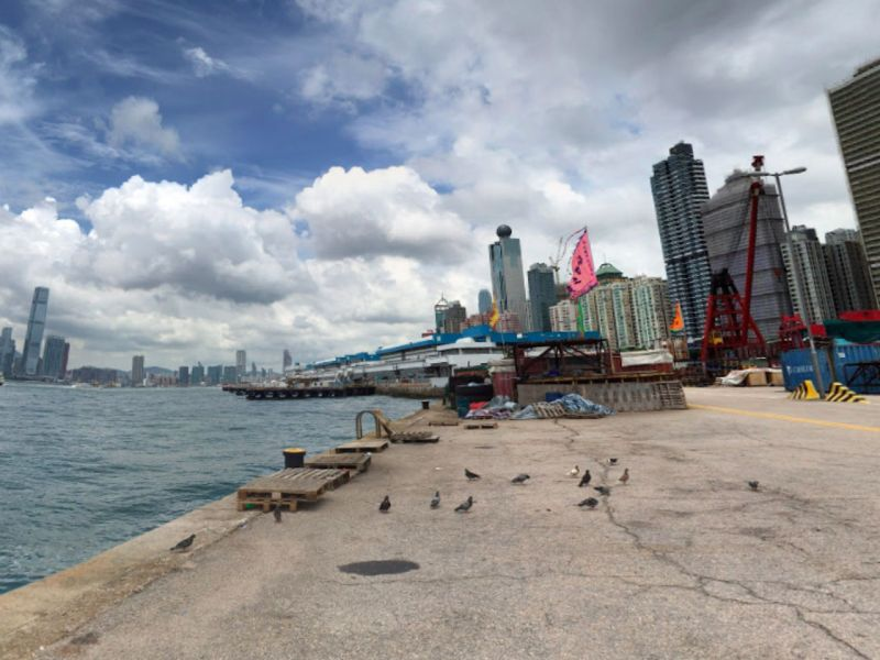 The Western Wholesale Food Market on Hong Kong Island. Photo: Google Maps
