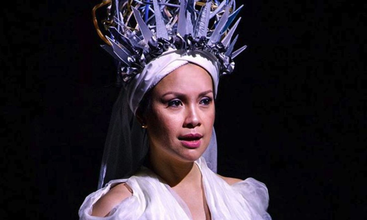 Filipino theater actress and singer Lea Salonga. Photo: Instagram (@onceislandbway)