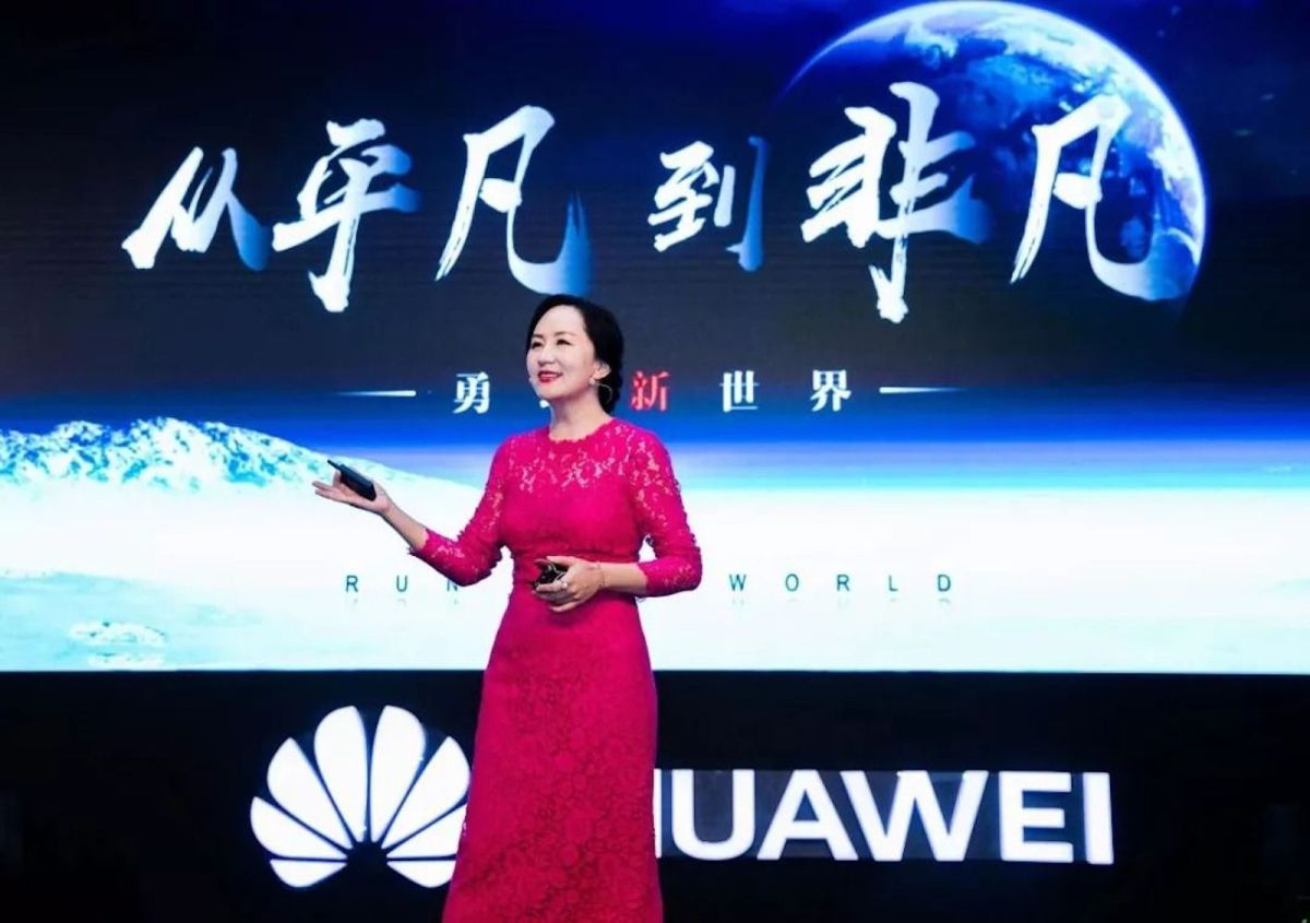 Meng Wanzhou is considered corporate royalty in China. Photo: Huawei