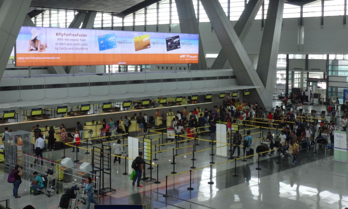 Ninoy Aquino International Airport. Photo: Wikimedia Commons