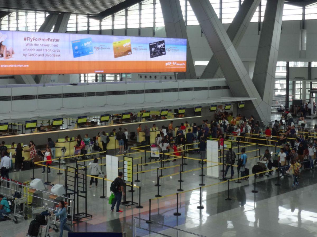 Ninoy Aquino International Airport. Photo: Wikimedia Commons