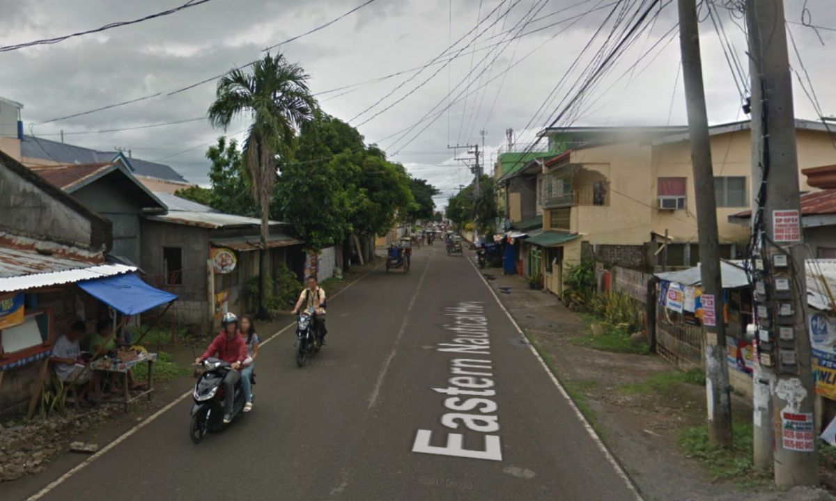 The town of Naval in  Biliran where the attacks allegedly occurred. Photo: Google Maps