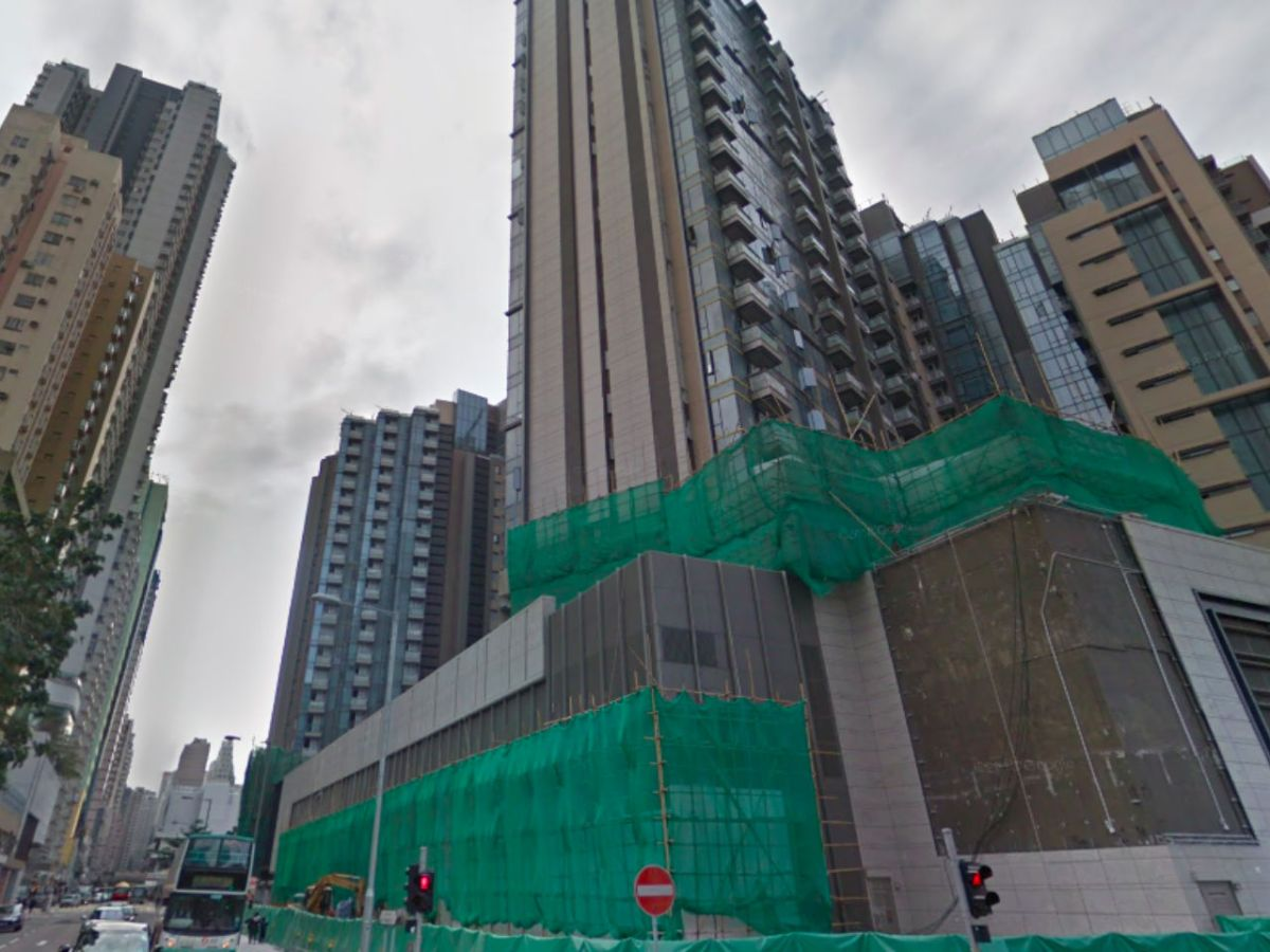 North Point on Hong Kong Island where the alleged thefts took place. Photo: Google Maps