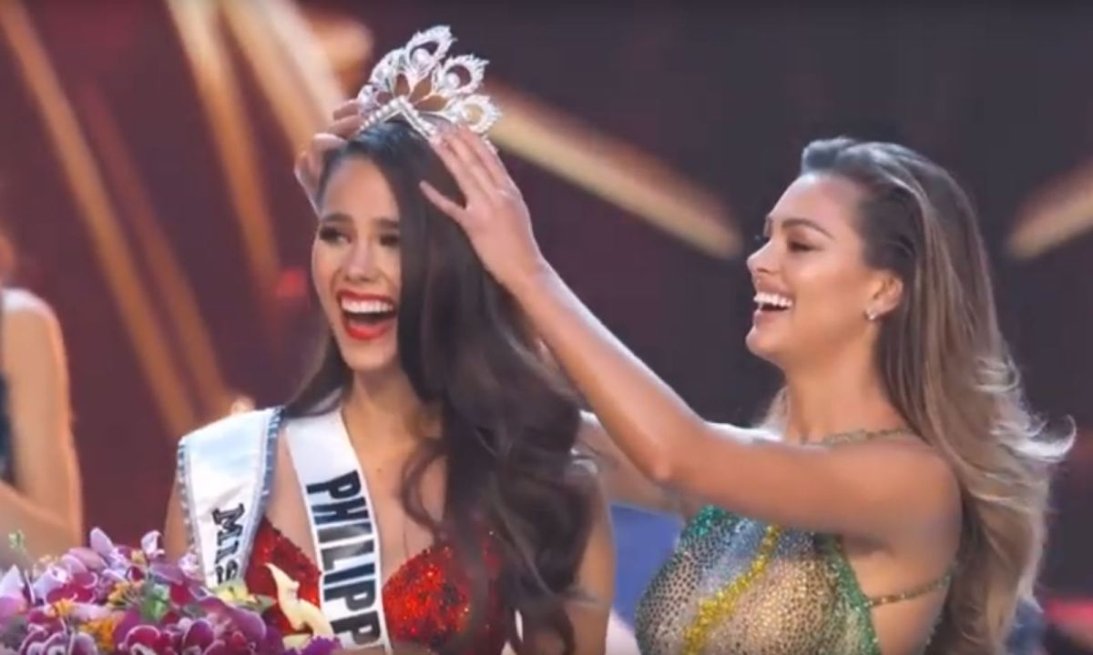 Catriona Gray of the Philippines was crowned this year's Miss Universe. Photo: YouTube/Miss Universe
