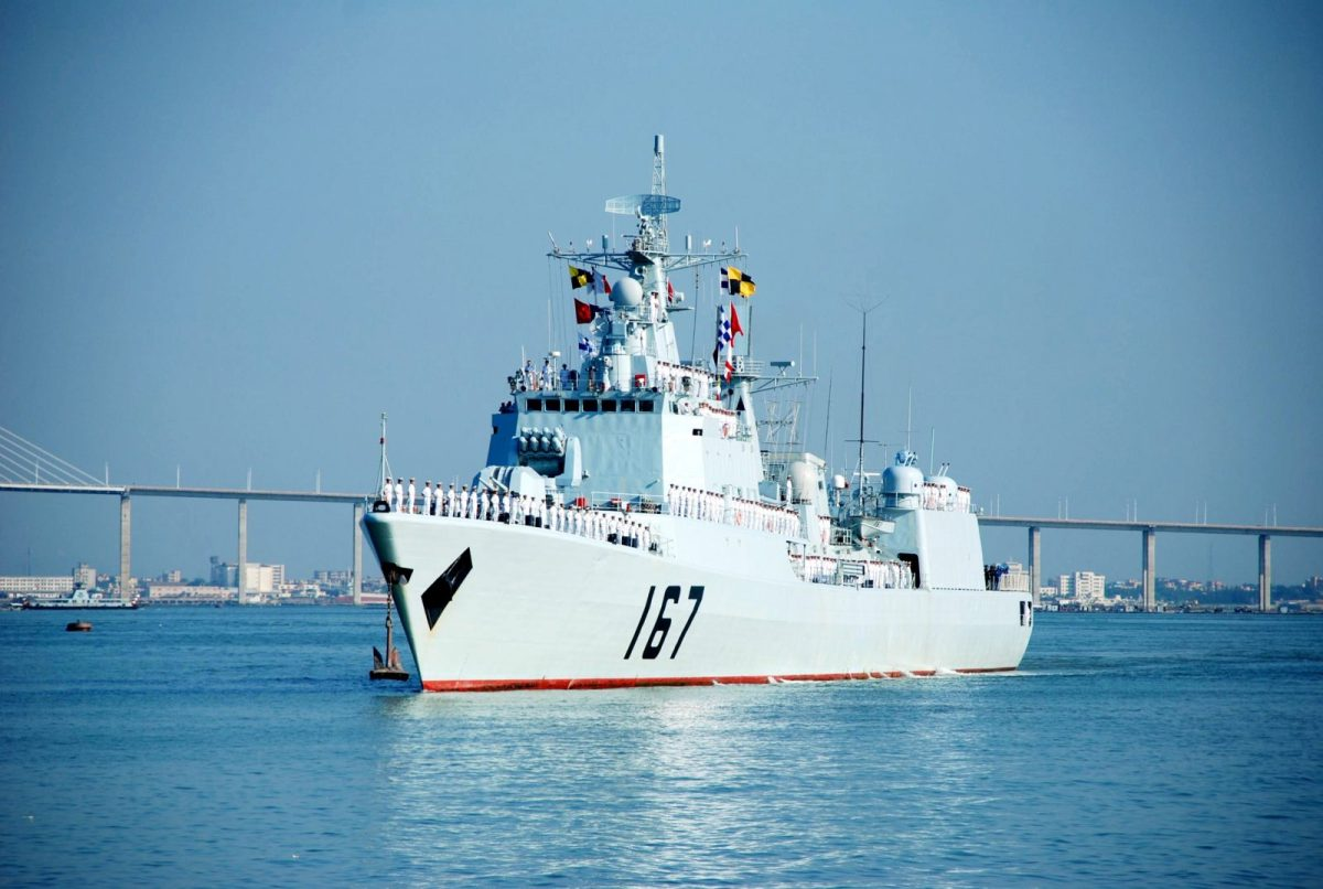 The DDG-167 Shenzhen missile destroyer returns to port in Zhanjiang,, Guangdong Province, after an anti-piracy mission in the Gulf of Aden in this file pic from August 2009.Photo: AFP