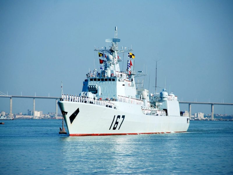 The DDG-167 Shenzhen missile destroyer returns to port in Zhanjiang,, Guangdong Province, after an anti-piracy mission in the Gulf of Aden in this file pic from August 2009. Photo: AFP
