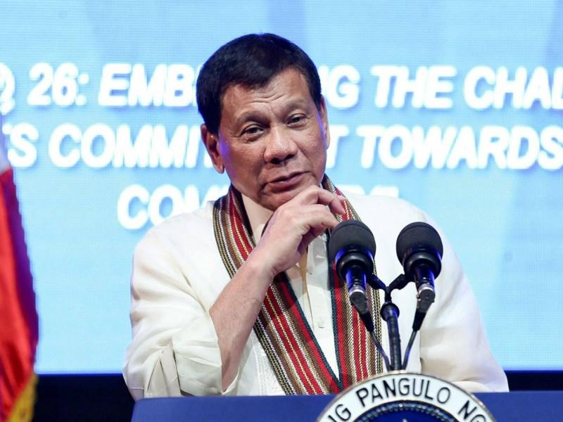 Philippine President Rodrigo is never far from controversy. Photo: DuterteRody Duterte@Facebook