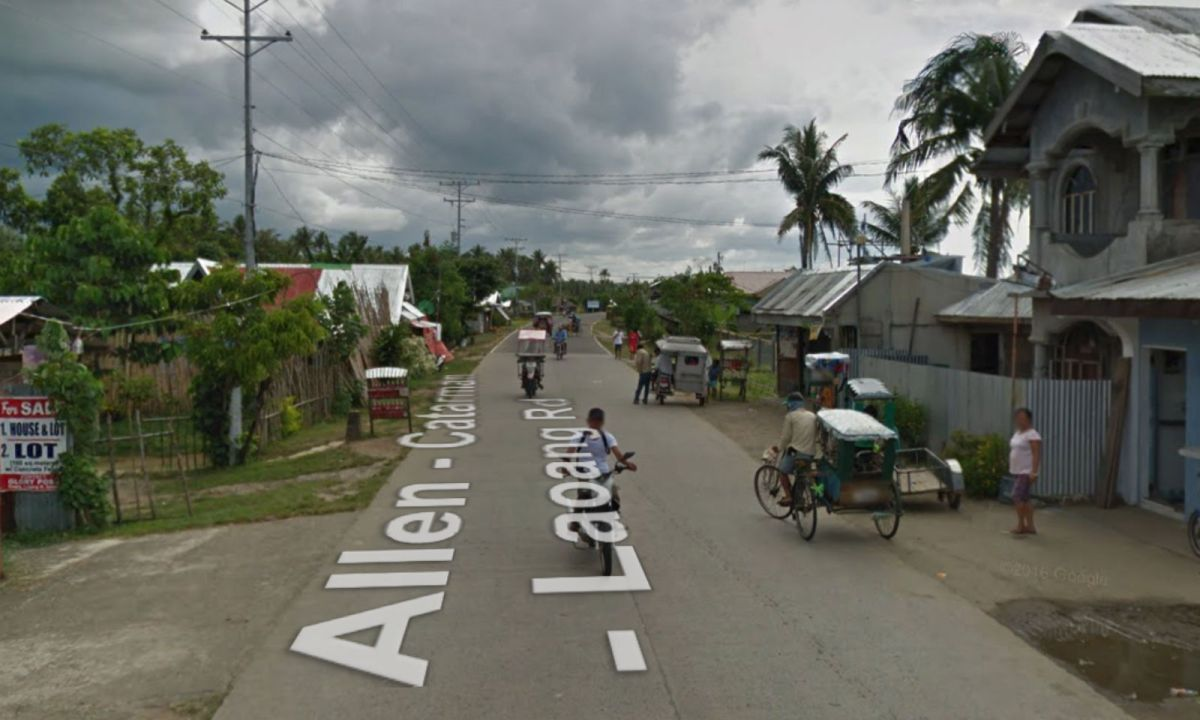 Laoang, Northern Samar in the Philippines. Photo: Google Maps