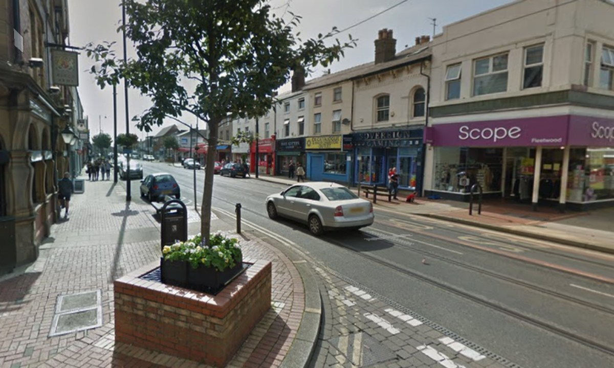 Lord Street in Fleetwood, England. Photo: Google Maps