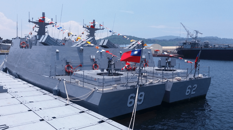 Smaller warships for nimble deployment and interception is the Taiwanese Navy's new tactic. Photo: Facebook