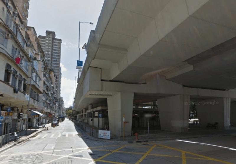 Tung Chau Street flyover in Sham Shui Po district, Kowloon. Photo: Google Maps