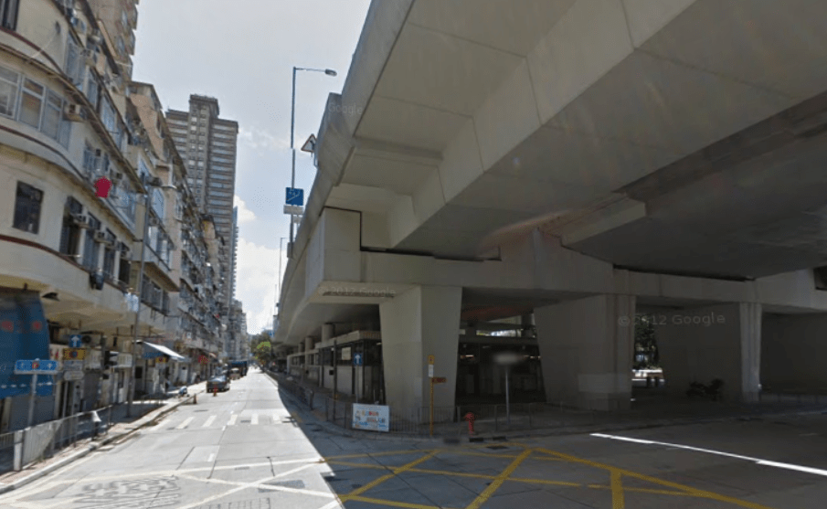 Tung Chau Street flyover in Sham Shui Po district, Kowloon. Photo: Google Maps