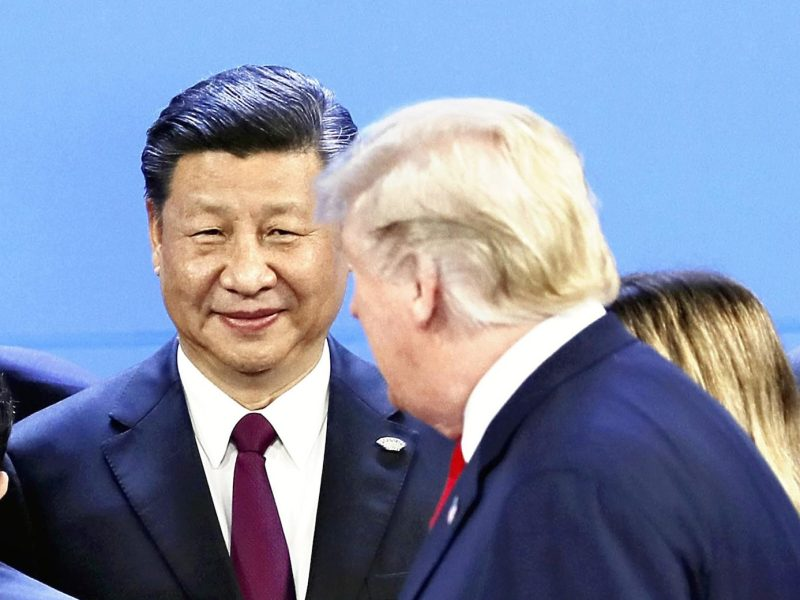 US President Donald Trump and Chinese President Xi Jinping attend the recent G20 summit in Buenos Aires. Photo: AFP / Yomiuri Shimbun