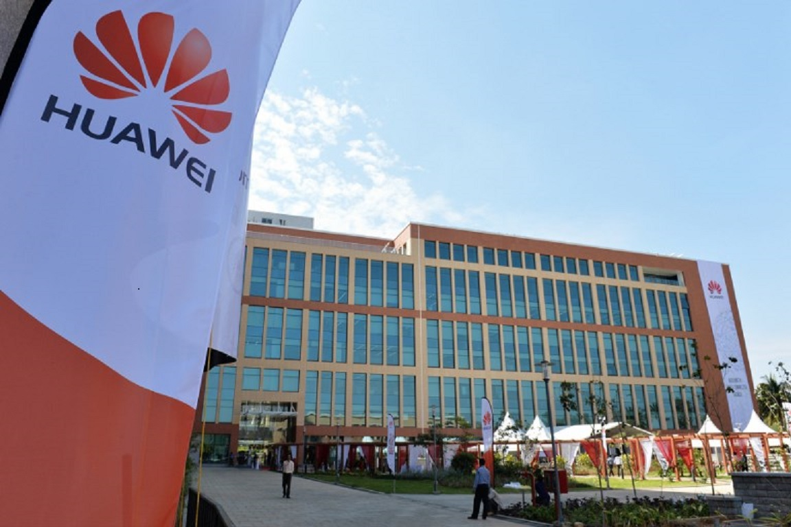 Huawei Research and Development Centre in Bangalore, India. Photo: AFP