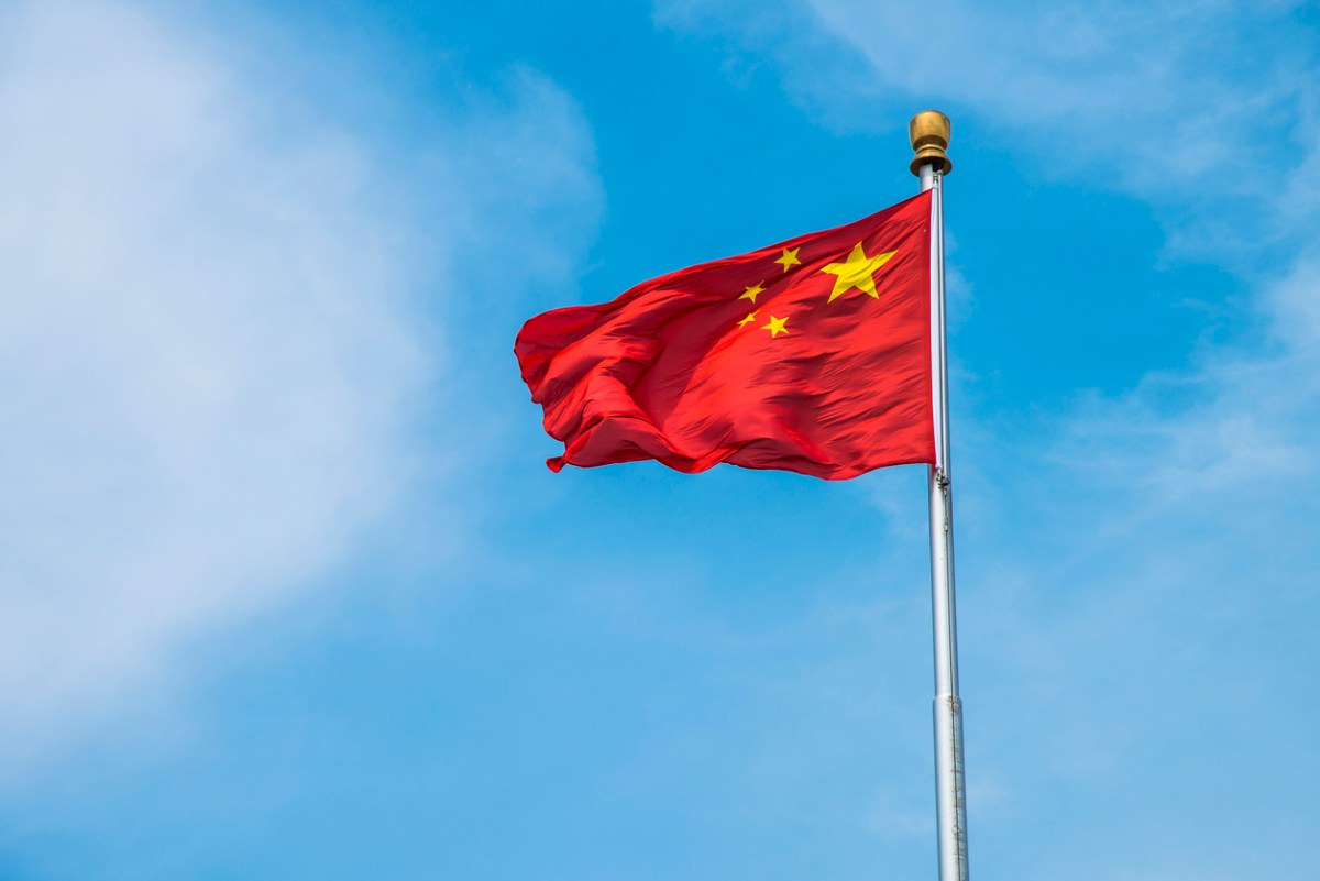 Chinese flag: iStock