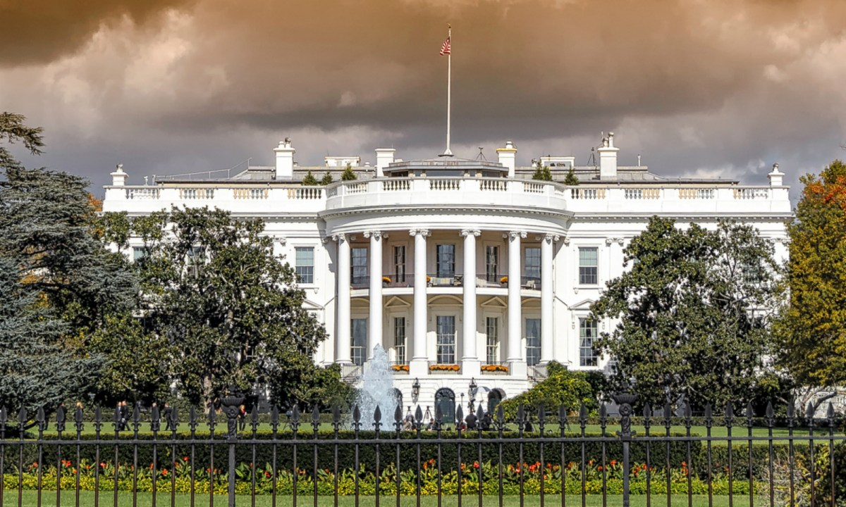 The White House. Photo: iStock