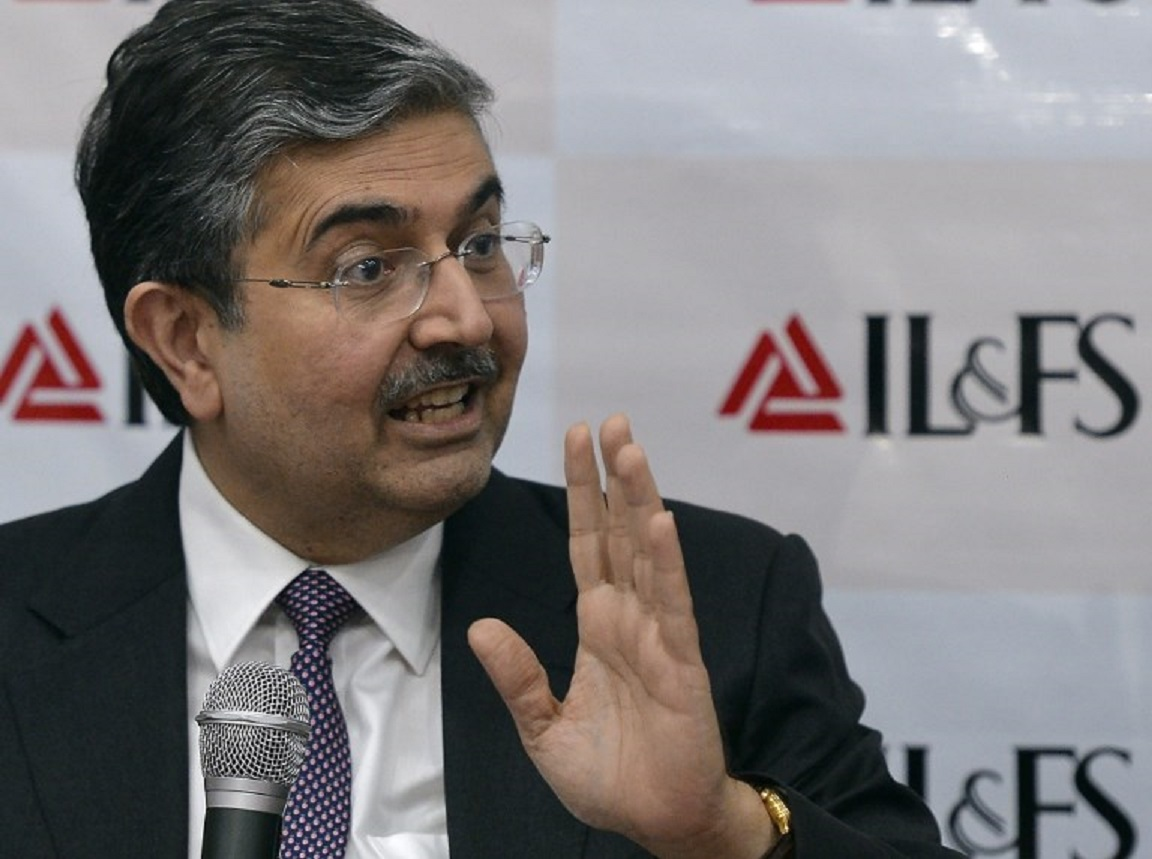 Uday Kotak, non-executive chairman of the newly constituted board for infrastructure lender IL&FS. Photo: AFP