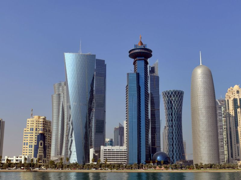 Doha in Qatar is a popular place with migrant workers. Photo: iStock