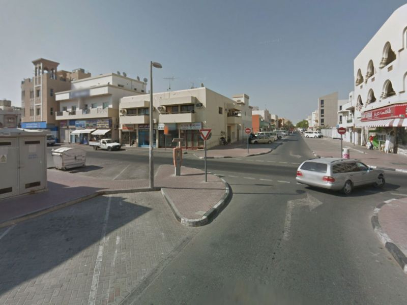 Hor Al Anz in Dubai where some of the robberies took place. Photo: Google Maps