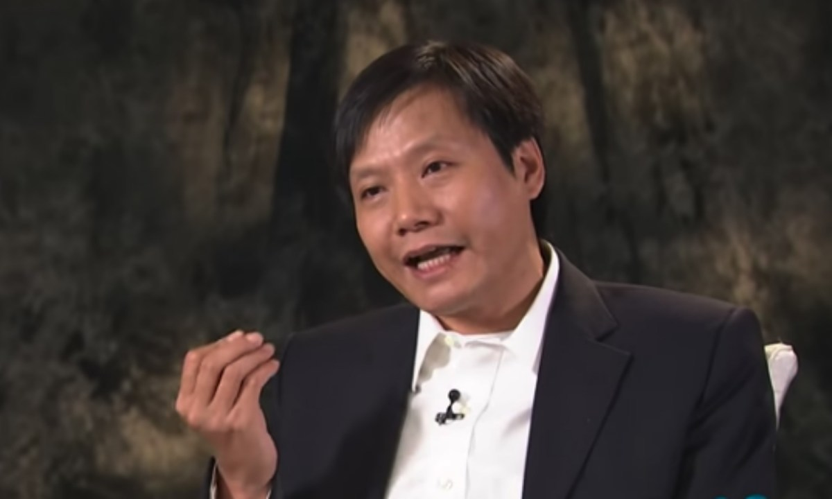 Lei Jun, the founder and chairman of Xiaomi. Photo: YouTube/Yang Lan Official Channel