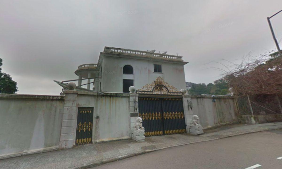 The house at Repulse Bay on Hong Kong Island. Photo: Google Maps
