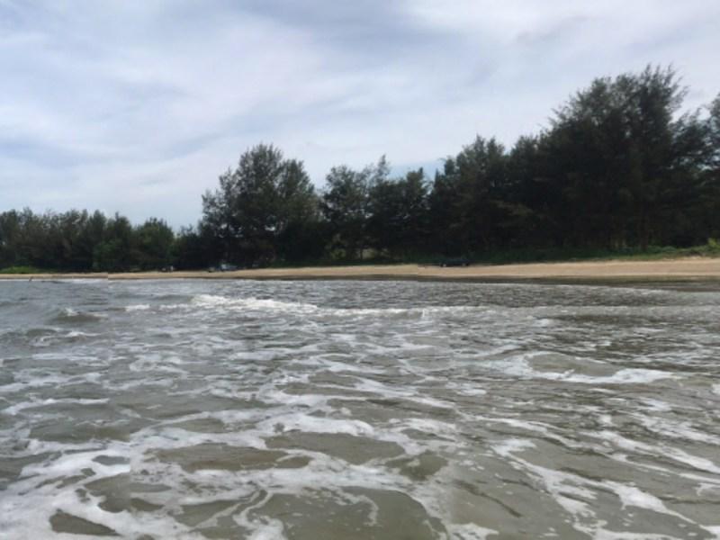 Tungku Beach, Bandar Seri Begawan. Photo: Google Maps.