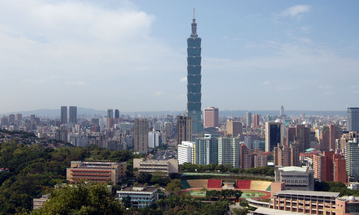 Taipei, Taiwan. Photo: Wikimedia Commons