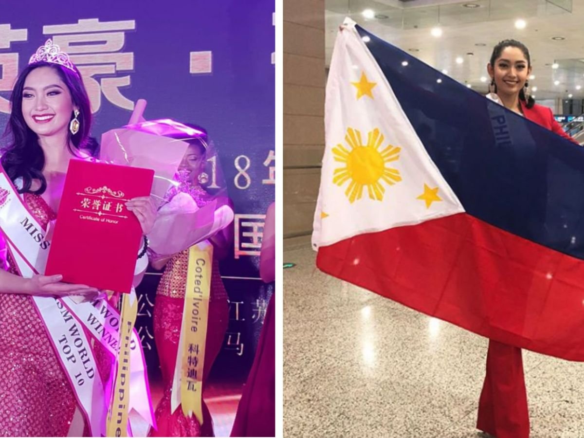 Filipino model and vlogger Francesca Taruc bagged the first pageant win of the year for the Philippines after being crowned Miss Tourism World Intercontinental 2019. Photo: Facebook/Miss Tourism World 2019 Intercontinental Final/Instagram (@francescataruc)