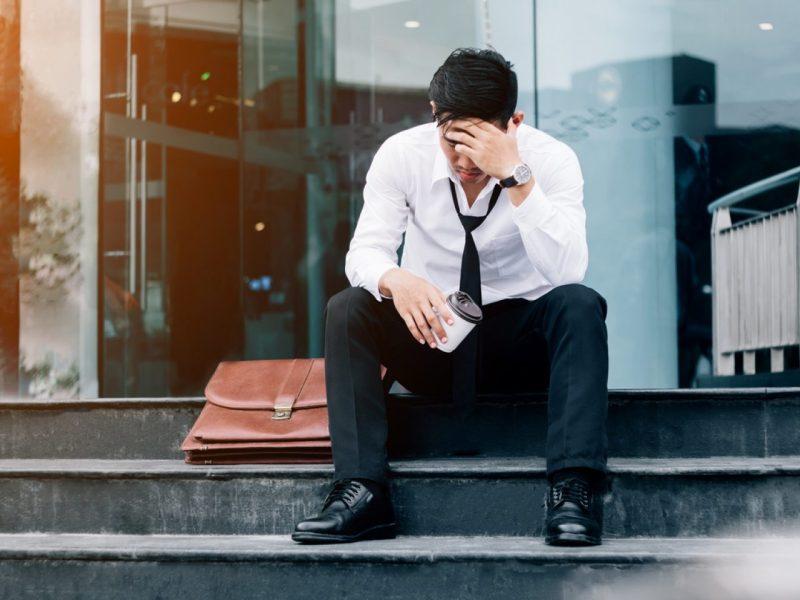 失業的商人。相片:iStock