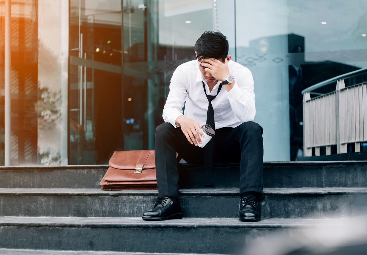 Unemployed businessman. Photo: iStock