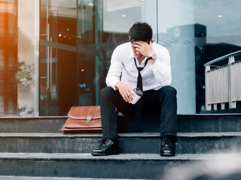 Unemployed businessman. Photo: iStock