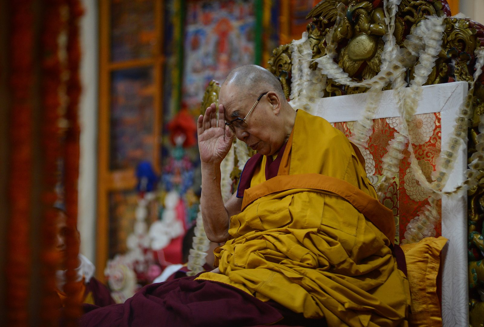 Dalai Lama Breaks The Chains Of Reincarnation Asia Times