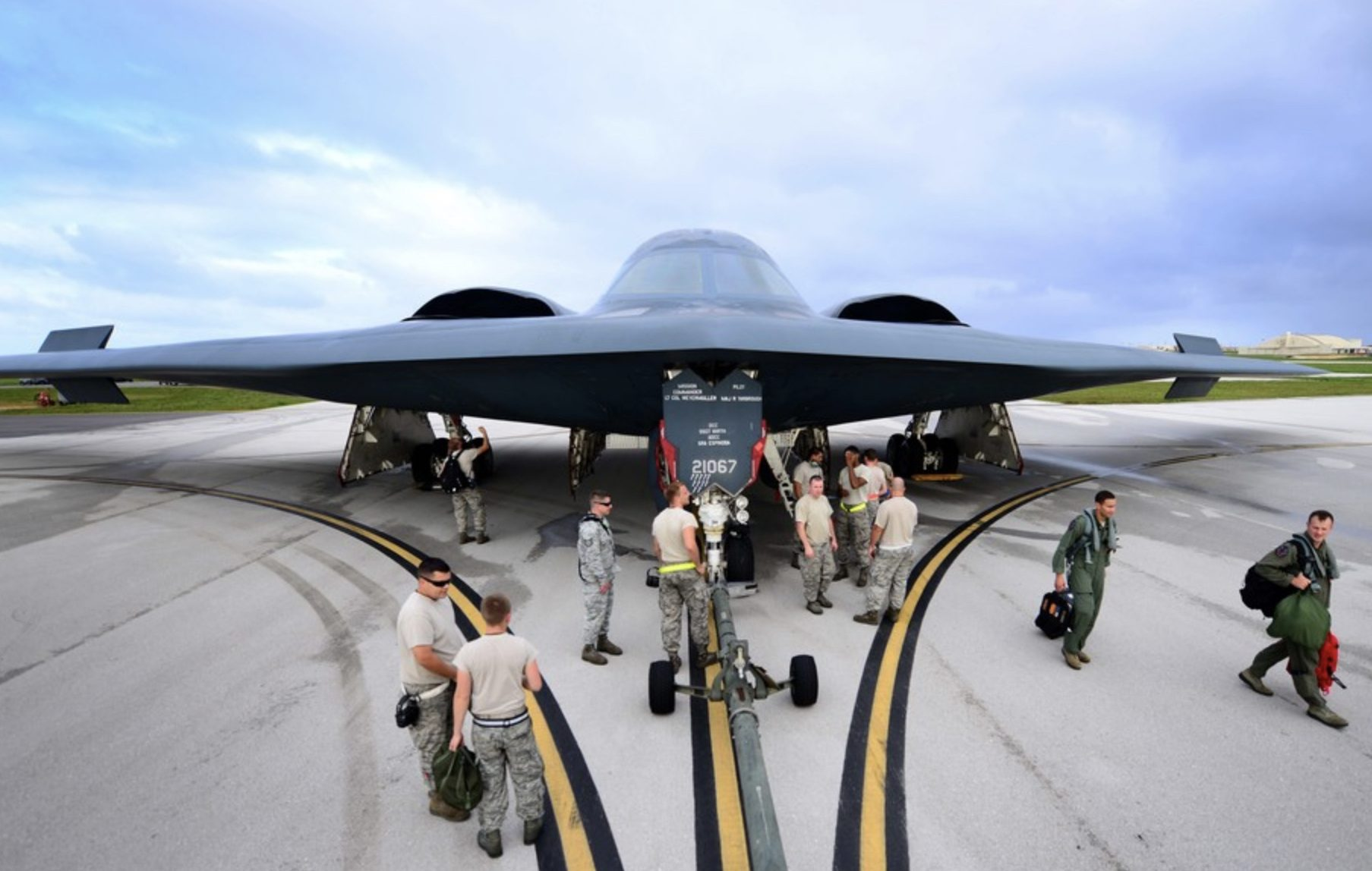 Why the US withdrew its bombers from Guam - Asia Times