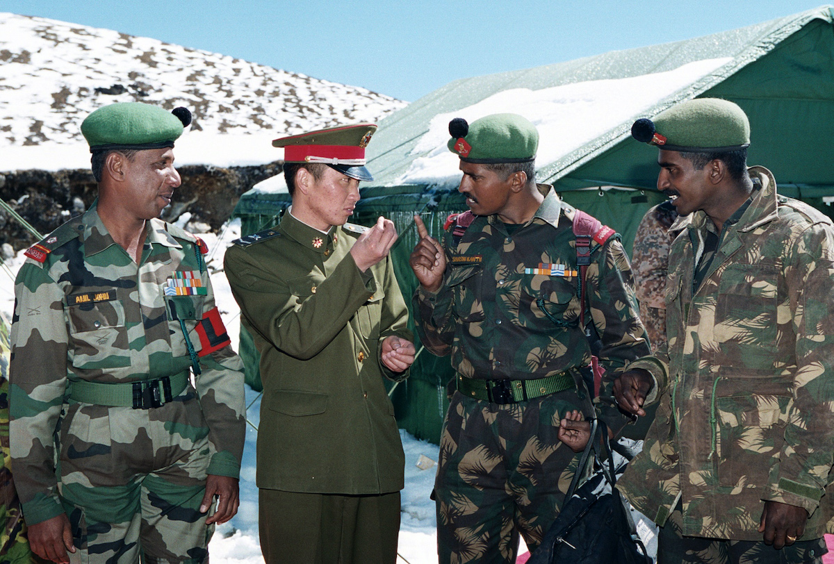India-China border issues are usually settled on the border in meetings between local commanders and officials. Photo: AFP / Indian Defense Ministry / HO